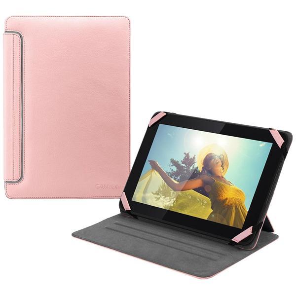 Canyon CNA-TCL0210P univerzálny obal/stojan pre 10,1´´ tablet s unikátnym rotačným mechanizmom, ružový