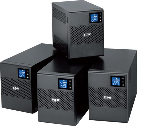 EATON UPS 1/1fáza, 500VA - 5SC 500i, 4x IEC, USB, Line-interactive, Tower