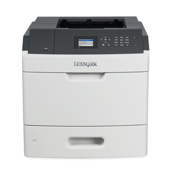 Lexmark MS812dn, mono laser, 1200dpi, 66ppm, 512MB, 800MHz, USB, GLan