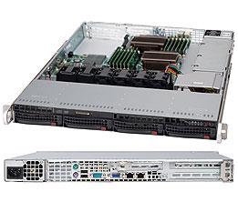 Supermicro® SC813MTQ-441CB 1U chassis