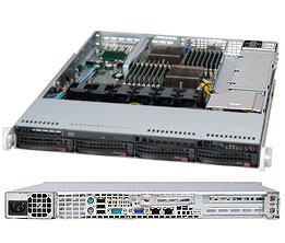 Supermicro® Server System AS-1022G-NTF 1U dual AMD Opteron 6xxx