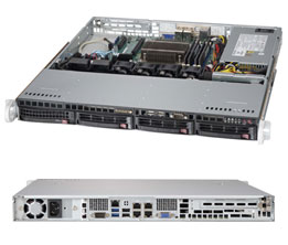 Supermicro Server SYS-5018D-MTLN4F 1U SP