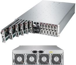 Supermicro Server SYS-5038ML-H12TRF, 3U, 12 x Micro Cloud Nodes, Intel Chipset, SATA, IPMI - Black