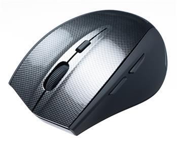 CONNECT IT bezdrôtová optická myš čierna wireless