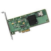 LSI SAS 9211, PCI-E 6Gb/s, SATA/SAS RAID 0,1,1E,10, JBOD 4 ch bulk