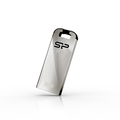 16 GB . USB 3.0 kľúč ..... Silicon Power JEWEL J10, strieborný (odolný voči vode, prachu a nárazom)
