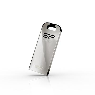 32 GB . USB 3.0 kľúč ..... Silicon Power JEWEL J10, strieborný (odolný voči vode, prachu a nárazom)