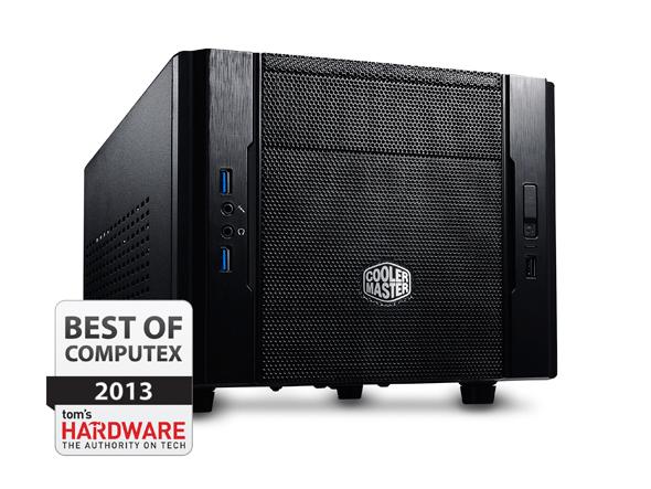 CoolerMaster case mini ITX Elite 130, čierna, USB3.0, bez zdroja