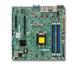 Supermicro MB Xeon E3-1200V3 X10SLM+-LN4F C224 4xGLAN RAID