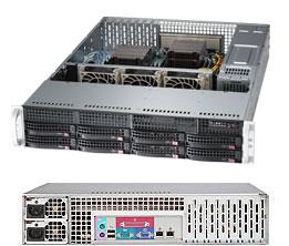 Supermicro Server SYS-6027R-73DARF 2U DP