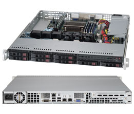 Supermicro Server SYS-1018RD-73MTF 1U SP