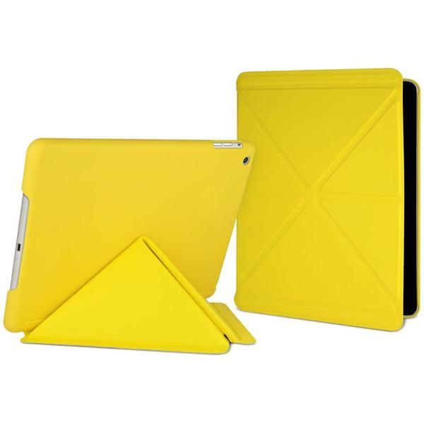 Cygnett Paradox Sleek, elegantný obal/stojan pre iPad Air, dizajn diár, žltý