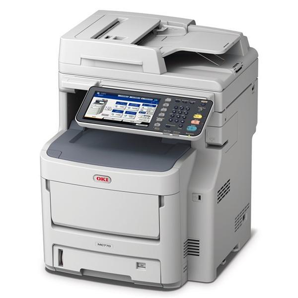 OKI MC770dnfax farebna MFP A4 36-34str/min, 2GB RAM, COPY, SCAN, HDD, DUPLEX, FAX