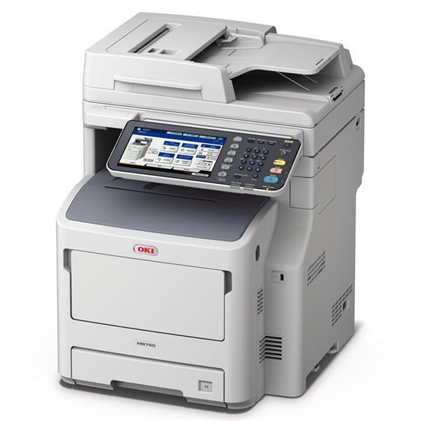 OKI MB760dnfax mono MFP A4, 47str/min, USB, NET, DUPLEX, COPY, SCAN, FAX
