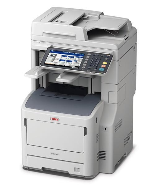 OKI MB770dnfax mono MFP A4, 52str/min, USB, NET, DUPLEX, COPY, SCAN, FAX