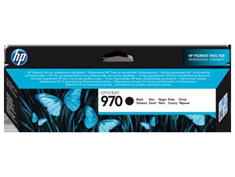 Čierna atramentová kazeta HP Officejet 970
