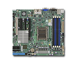 Supermicro MB Opteron41xx H8SCM-F AMD SP5100 IG 2xGLAN RAID