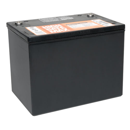 TrippLite12V DC 75Ah, Maintenance-Free Battery for All Inverter/Chargers that Accept 12V DC Battery Connections