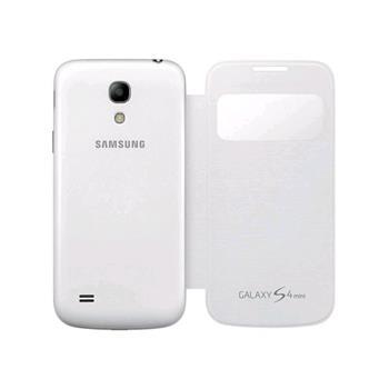 Samsung flipové púzdro s oknom S-view pre Galaxy S IV mini (i9195), biele