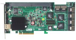ARECA 24x SATA-II, RAID 0/1/3/5/6, 256MB Cache, Multilane