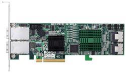 ARECA HBA 24x SAS 6Gbit/s (4x SFF-8087 + 2x SFF-8088) Interní/Externí, PCI-E x8