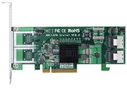 ARECA HBA 8x SAS 6Gbit/s (2x SFF-8087) Interní, PCI-E x8