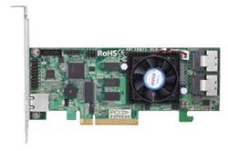ARECA 8port 6Gb/s SAS RAID, 1GB DDR3, PCIe x8 Card