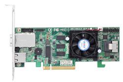 ARECA 8 Ports (Int/Ext) 6Gb/S SAS/SATA RAID Adapters (1xSFF-8087, 1x SFF-8088), 1GB DDR3, PCI-E x8,