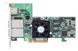 ARECA 8 Ports Externí (2x SFF 8088) 6Gb/s SAS/SATA RAID Adapters, 1GB DDR3, PCI-E x8
