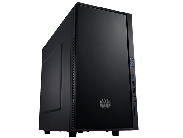 CoolerMaster case minitower Centurion Silencio 352 Matte, mATX, čierna-matná, USB3.0, bez zdroja, odhlučnená