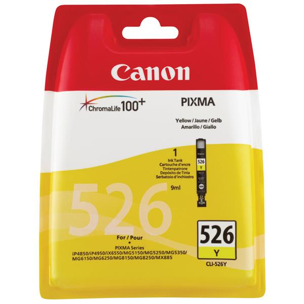 Canon Cartridge CLI-526 Y