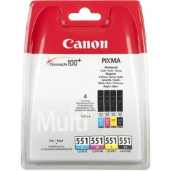 Canon cartridge CLI-551 C/M/Y/BK Multi Pack