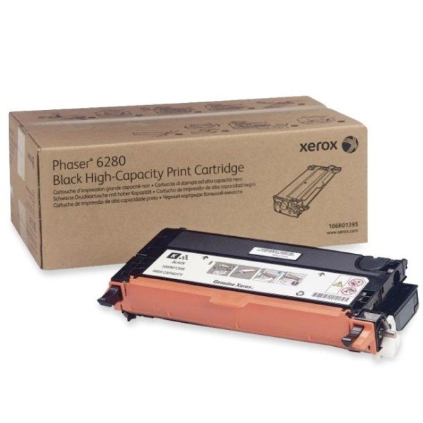 Xerox BLACK HIGH CAPACITY PRINT CARTRIDGE, PHASER 6280 DMO (7K)