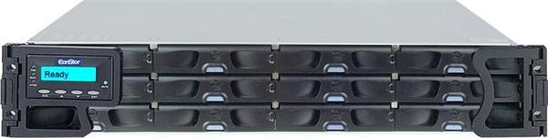 Infortrend,EonNAS 3012R 8x GbE, 2x host board slots, 2x Intel Core i3 dual-core, 16GB DDR3 2U