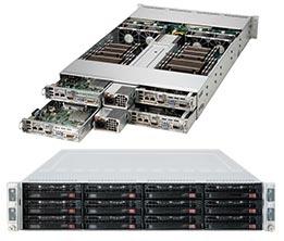 Supermicro Server SYS-6027TR-H71RF+ 2U DP