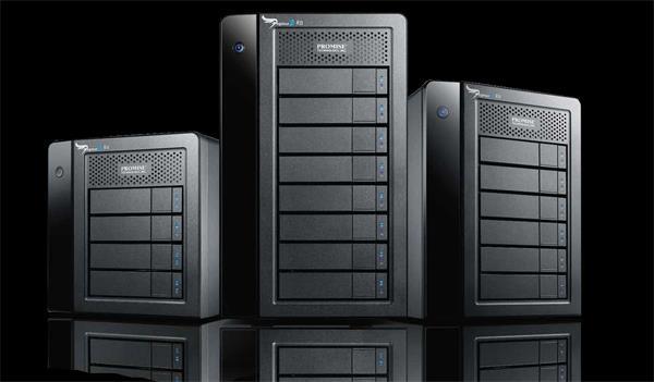 Promise Pegasus 2 R8 8 x 3TB SATA HDD 2 x Thunderbolt 2 RAID 0, 1, 5, 10