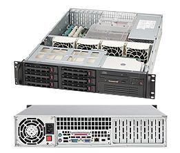Supermicro® CSE823TQ-653LPB 2U chassis