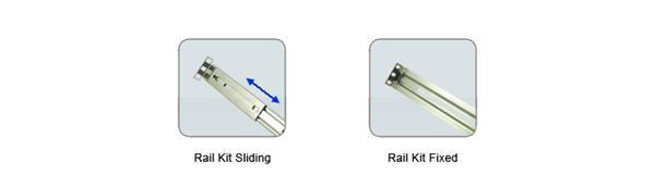 Synology™ RKM114 - Rail Kit Mounted (pevné ližiny)