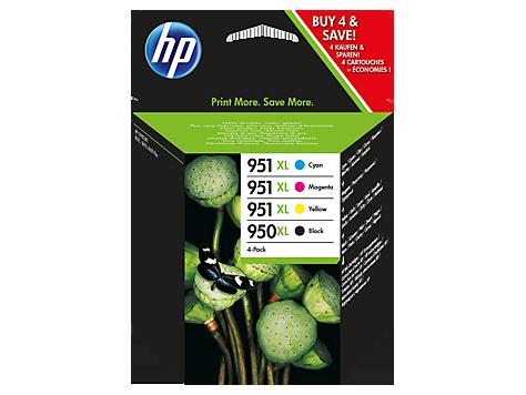 HP Kombinované balenie atramentových kaziet HP 950XL/951XL Officejet