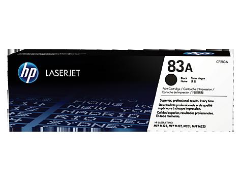 HP Čierna tonerová kazeta HP83A