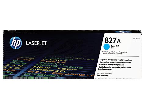 HP Azúrová tonerová kazeta HP827A LaserJet