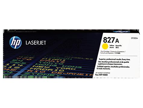 HP Žltá tonerová kazeta HP827A LaserJet