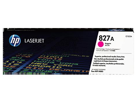 HP Purpurová tonerová kazeta HP827A LaserJet