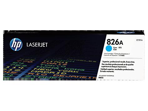 HP Azúrová tonerová kazeta HP826A LaserJet