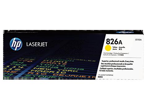 HP Žltá tonerová kazeta HP826A LaserJet