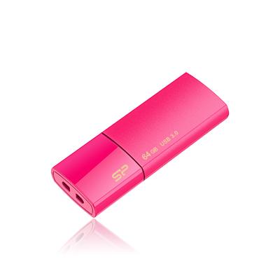 8 GB . USB 3.0 kľúč ..... Silicon Power Blaze B05, ružový