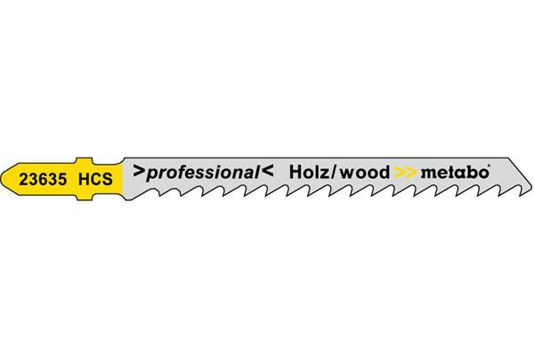 Metabo 25 Pílových plátkov, drevo, professional 74/ 4,0 mm