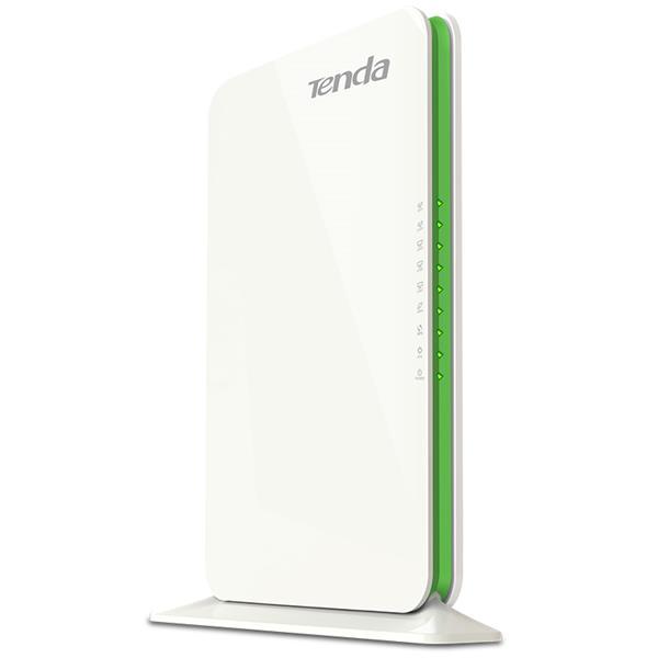 Tenda F1200 Wireless-AC router 1200Mbps (3x LAN, 1x WAN), int.ant, UniRepeater