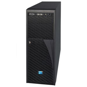Intel® Workstation P4304CR2LFKN (Tower 4U, 2xE5-2600, 16xDDR3 4x3.5' Fixed HDD, RAID (1,0,10), 2xGLAN, 1600W