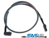 ADAPTEC PMC Internal right-angle mini-SAS HD x4 to four x4 mSAS Retail